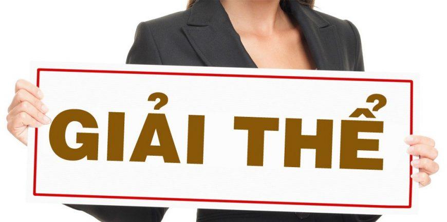 Thủ tục giải thể doanh nghiệp với cơ quan thuế