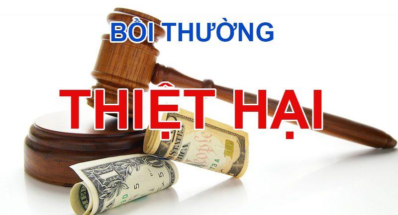 Bồi thường thiệt hại ngoài hợp đồng theo Bộ luật dân sự 2015