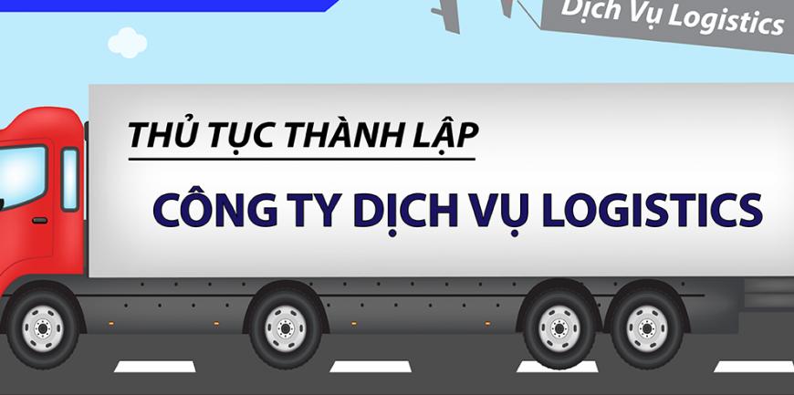 Mã ngành nghề và thủ tục thành lập công ty dịch vụ logistics