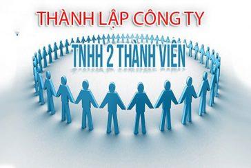 Thành lập công ty TNHH hai thành viên trở lên