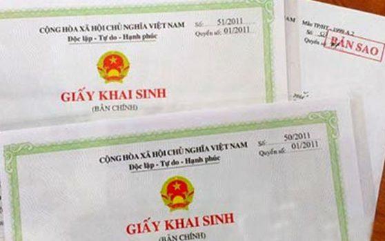Đăng ký khai sinh cho con khi cha mẹ không đăng ký kết hôn
