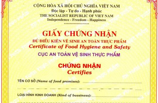 Vì sao cơ sở sản xuất phải cần có giấy phép an toàn vệ sinh thực phẩm?