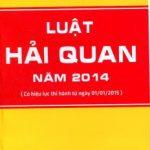 Luật hải quan 2014
