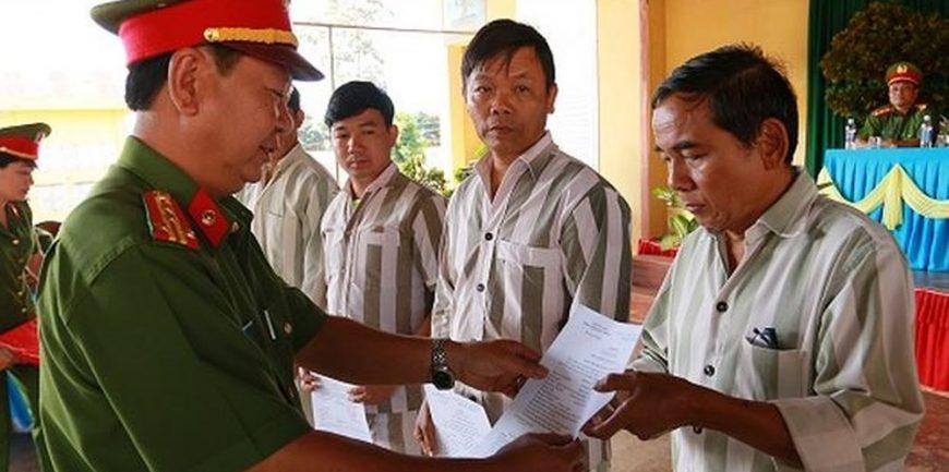 Thủ tục đề nghị tha tù trước thời hạn có điều kiện