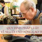 Sử dụng người lao động cao tuổi theo quy định pháp luật