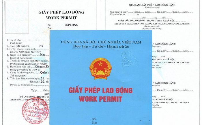 Quy trình cấp giấy phép lao động cho người nước ngoài tại Việt Nam mới nhất 2019